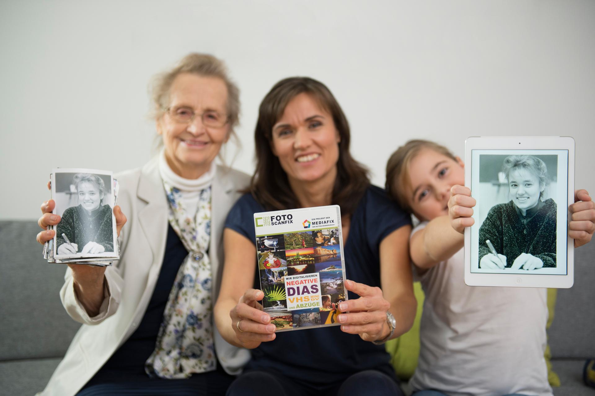 Bilder scannen lassen für die ganze Familie!