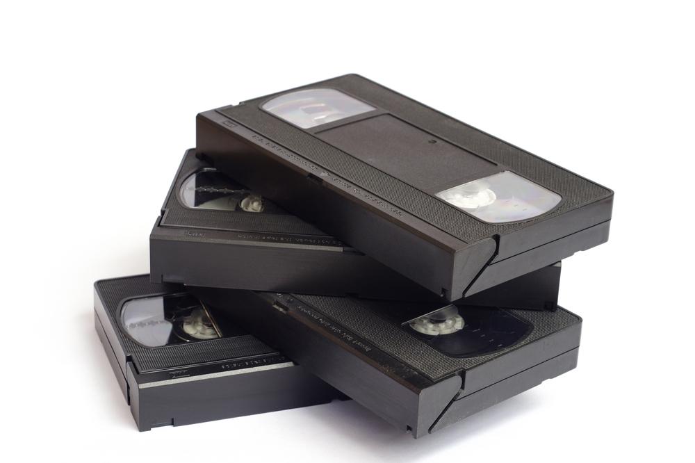 Alte VHS-Kassetten