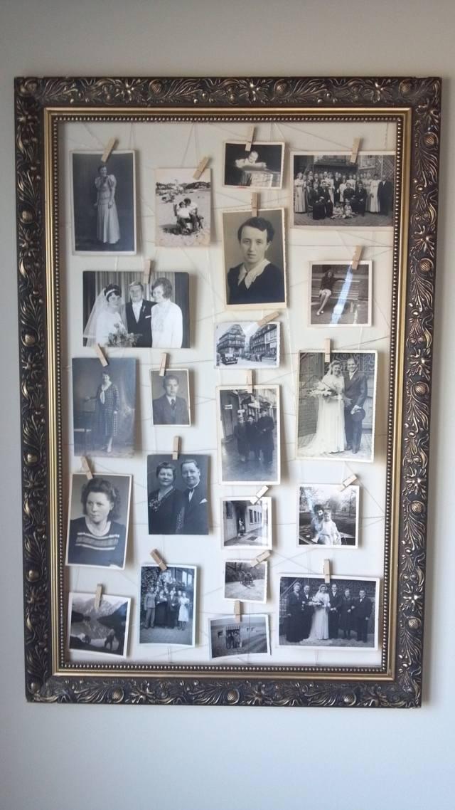 Fotos scannen und Vintage-Bilderrahmen mit Erinnerungen füllen!