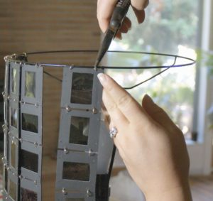 dias scannen lassen und lampenschirme basteln. Black Bedroom Furniture Sets. Home Design Ideas