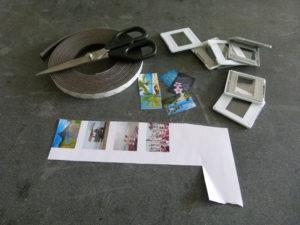 Dias scannen und Magnete basteln