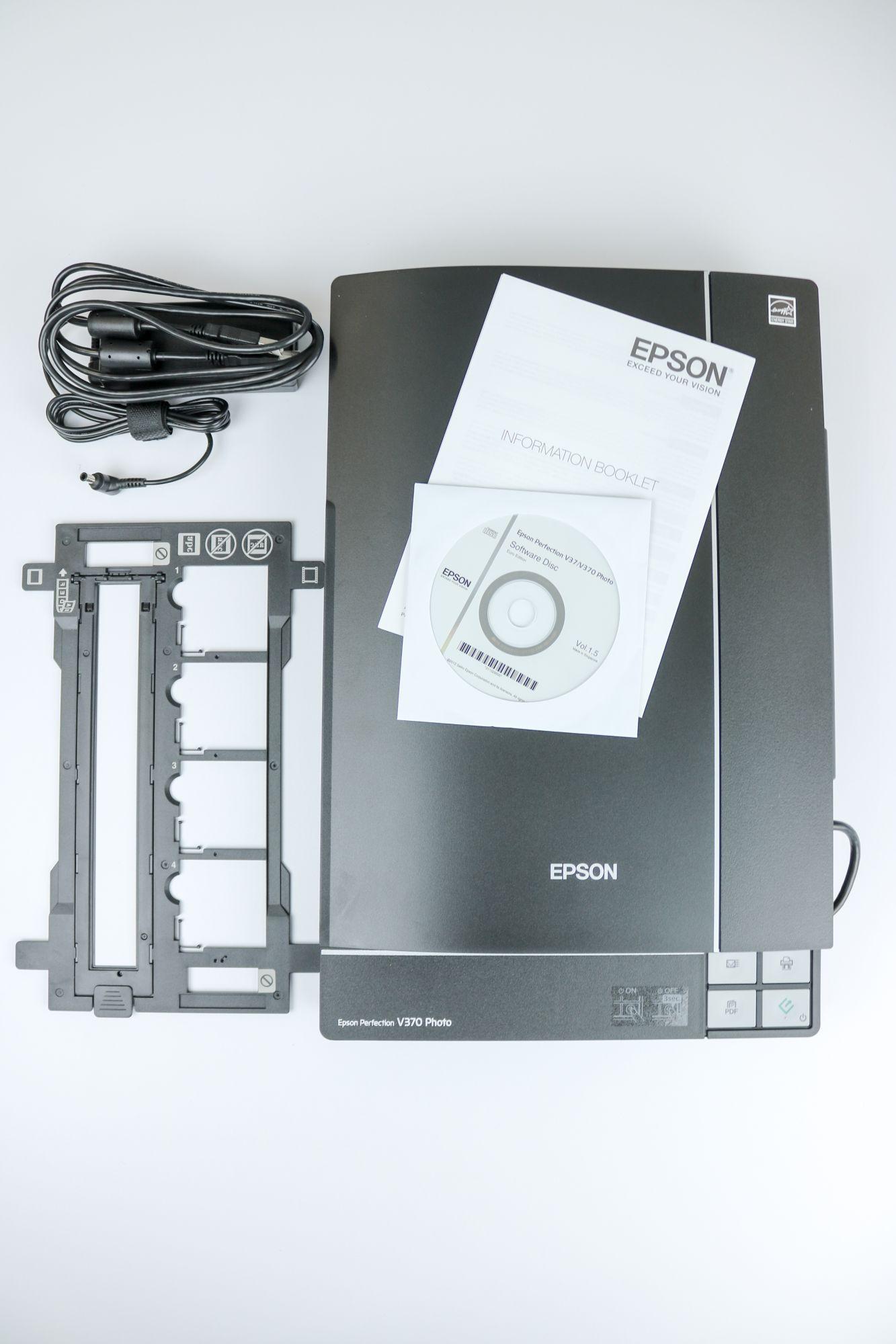 Scanner Test Der Epson Perfection V370 Mediafix