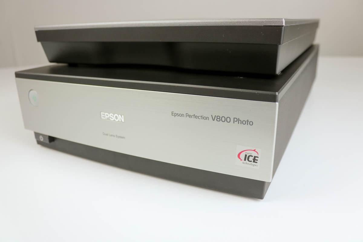 Der EPSON Perfection V800 im Test bei MEDIAFIX.