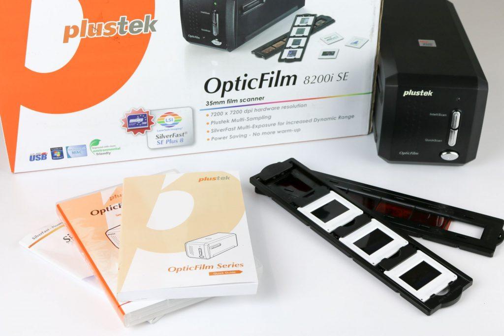 Der Plustek OpticFilm 8200i Scanner im MEDIAFIX-Test