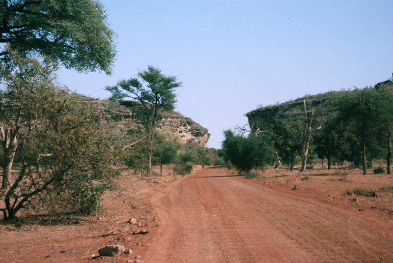 Strasse im Kongo