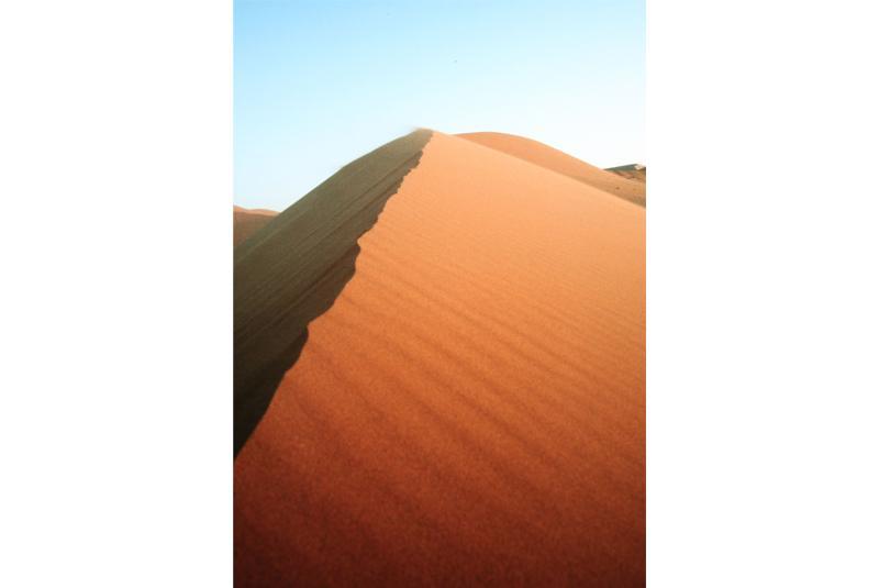 Düne in der Wüste Namibias