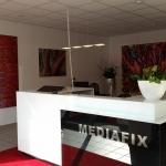 Kundenempfang in der MEDIAFIX Geschäftsstelle in Dortmund