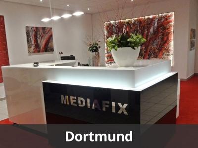 MEDIAFIX Geschäftsstelle in Dortmund