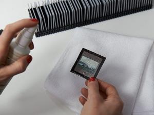 Reinigung Ihrer Dias vor dem Digitalisieren
