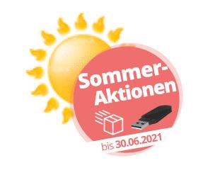 Sommer-Aktionen mit Gratis-USB-Stick und Gratis-Rückversand